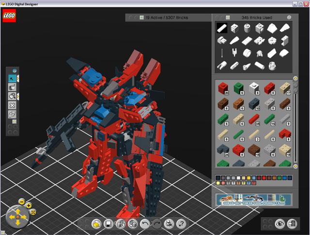 Lego Digital Designer 4.0.20 Portable скачать торрент.